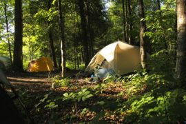 Discover the joys of camping in nature