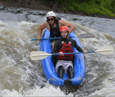 Le sportyaking : vivre l'eau-vive en solo