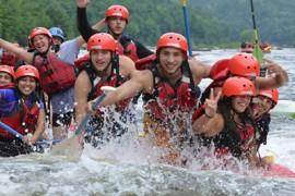 Le rafting régulier : parfait pour les horaires chargés
