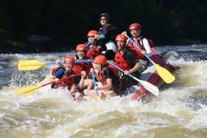 Rapides de Lachine vs Rivière Rouge : sur la Rouge, vous êtes le moteur!